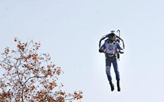 有人在加州3000呎高空飛行 被飛行員拍到