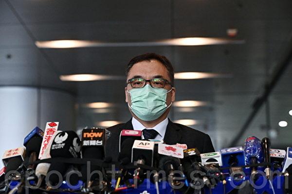 組圖:香港出動千警抓捕53名民主派人士