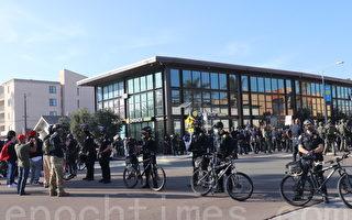 加州聖地亞哥民眾9日愛國遊行  遇襲