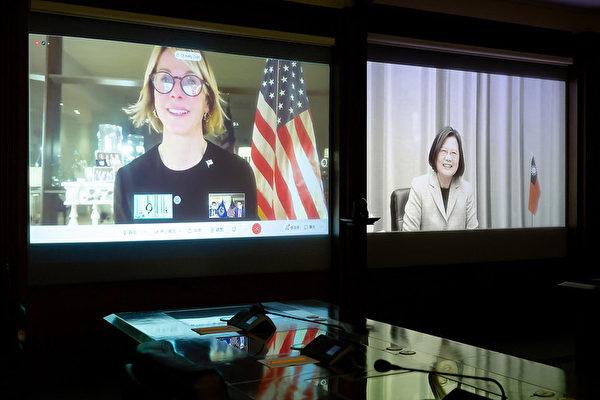 蔡英文与美驻联大使视讯:盼台湾加入联合国