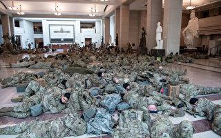 数千国民警卫队成员将驻守华盛顿特区至三月