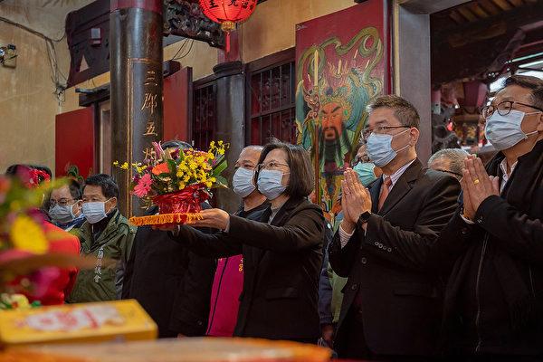 蔡英文:台防疫成功 去年經濟成長四小龍第一