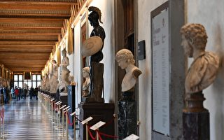 组图:疫情犹在 意大利重新开放著名美术馆