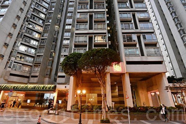 香港麗港城5座E室住戶須檢疫