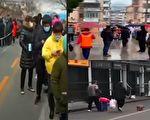 【一线采访】沪连增两中风险区 居民被转运