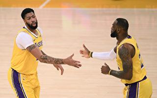 NBA雙星決勝節逞威 湖人豪取4連勝
