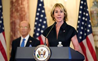 美驻联大使与蔡英文通话:美台并肩站在一起