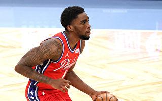 NBA米爾頓獨占鰲頭 76人二度滅火
