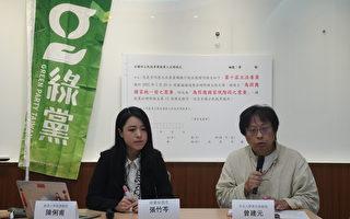 绿党修宪公投补正 改国家统一前为国家现阶段