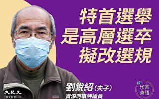 【珍言真语】刘锐绍:人大将改香港特首选规