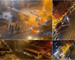 【一线采访】哈尔滨疫情严峻 数十辆大客车到小区拉人