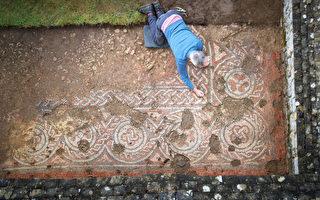 意義重大 英國出土公元5世紀黑暗時代馬賽克