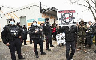 男子抗議封鎖被捕 須做病毒檢測的保釋條件被撤