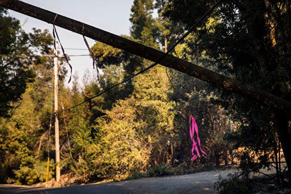 舊金山灣區颶風天氣 週二引發停電和多地火災