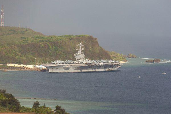 中共军机大肆扰台 美航母群驶入南中国海