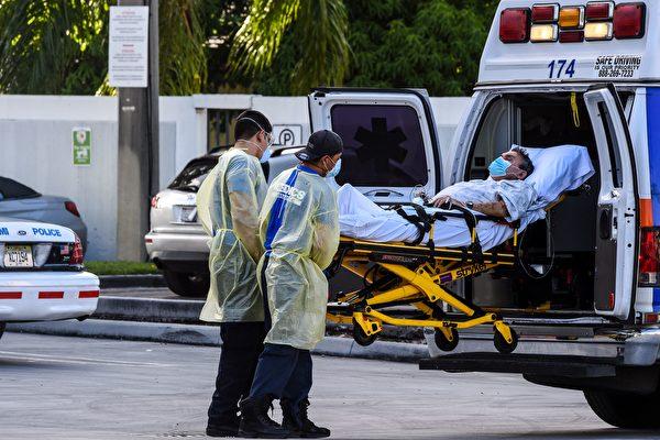 圣塔克拉拉疫情严峻 救护车等待时间倍增