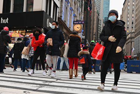节日购物季 美网购额大增32%