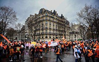 組圖:疫情危急 法國醫護抗議工作環境惡劣