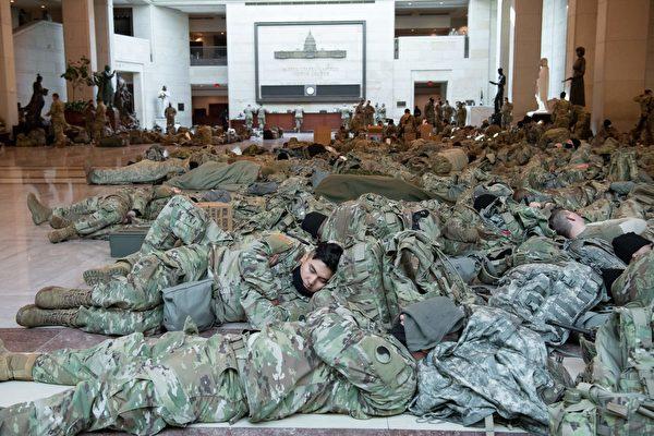 国民警卫队逾150人就职典礼后染疫