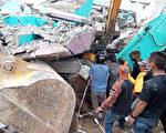 组图:印尼苏拉威西岛强震 至少35人死亡