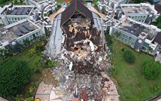 組圖:印尼蘇拉威西島強震 已致84人死亡
