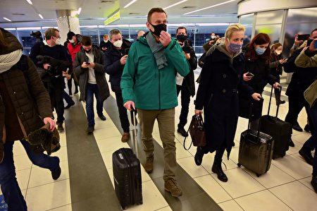 俄罗斯反对派领袖返国 莫斯科机场被捕