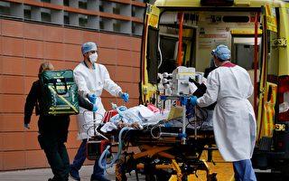 英染疫死亡人数近十万 当地医院如陷战区