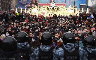 俄罗斯反对派全国抗议 逾3400人被抓