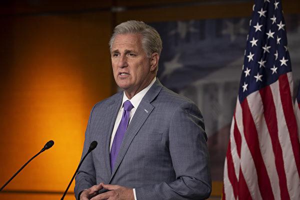 众院少数党领袖麦卡锡支持挑战选举人团