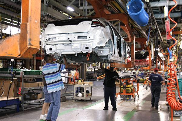 美國三大車企去年銷量下降超10%以上