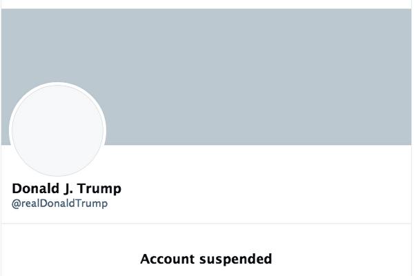 推特永久凍結帳號 川普將自行搭建平台發聲