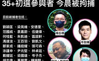 港府抓捕52名民主派人士 被指秋后算账