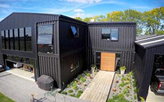 新西蘭新奇「豪宅」上市 12個集裝箱建造