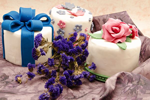「蛋糕裝飾」入門超簡單 自己設計送禮更溫馨
