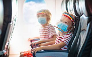加國改兒童乘飛機須戴口罩年齡 由2歲改為6歲