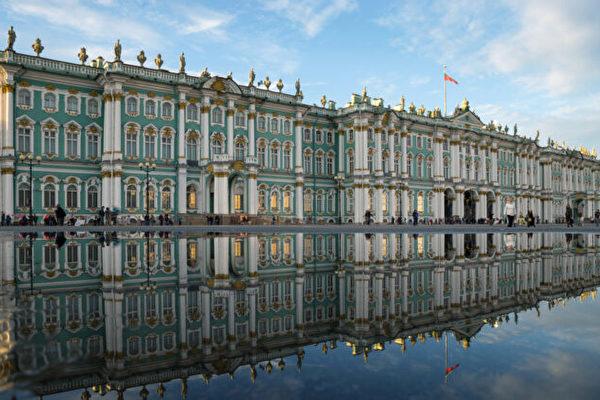 俄罗斯圣彼得堡冬宫 迷人的混搭风格