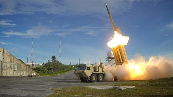 美國的薩德反導彈系統,可用於導彈前段攔截。(美國陸軍)