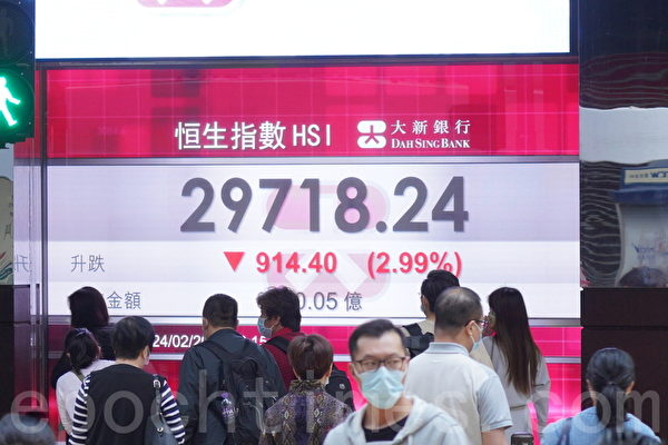 受中共打压 香港股市成全球科技股最大输家