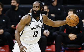 NBA哈登狂砍37分 篮网快意六连胜