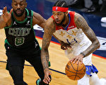 NBA绿衫军花完24分领先 鹈鹕延长克敌