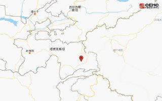 塔吉克斯坦、新疆边境附近发生6.1级地震