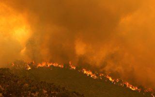 组图:澳洲珀斯山火延烧 面积高达七千公顷