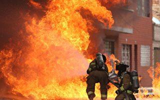 組圖:哥倫比亞工廠火災引發易燃物爆炸