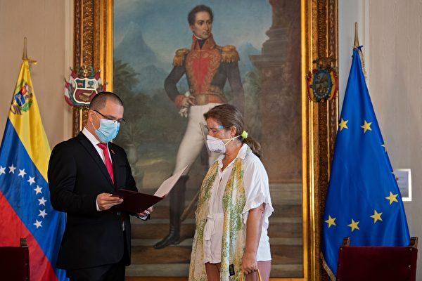 組圖:對制裁實施報復 委內瑞拉驅逐歐盟大使