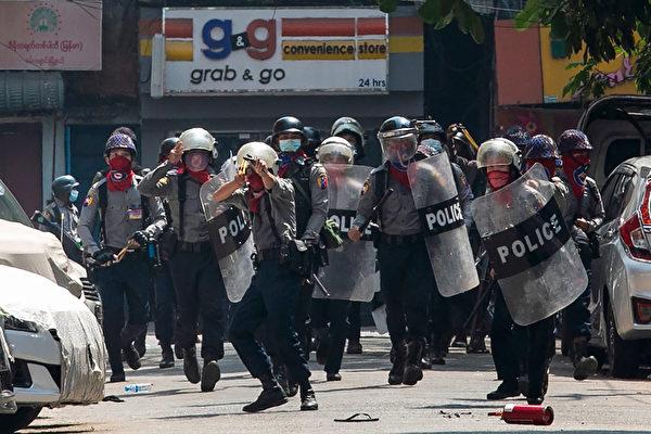 台外交部:谴责缅甸军政府武力镇压示威民众