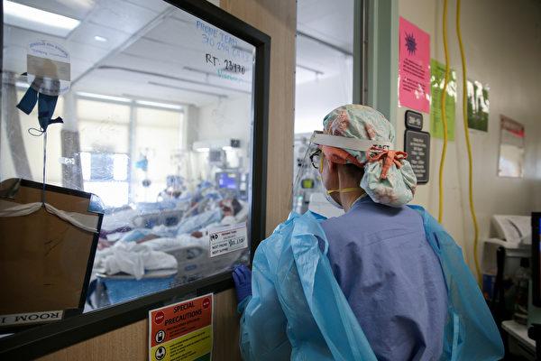 加州染疫住院人數續降 為冬季高峰期的一半