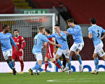 英超第23轮:曼城大胜利物浦 终结争冠悬念