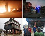 成都一小区火灾 因封路多人跳楼 3人重伤