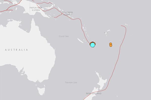 南太平洋發生7.7級地震 海嘯威脅新西蘭等島國