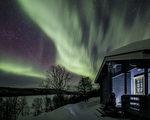组图:大自然最绚烂之秀 芬兰北极光